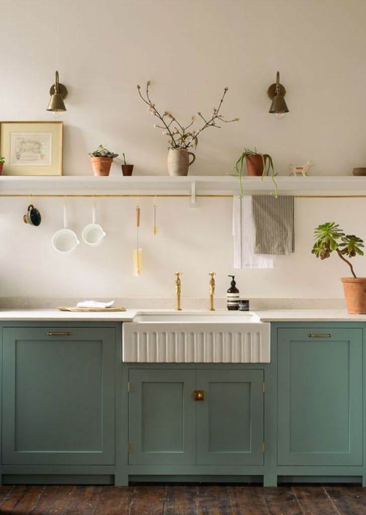 Single Open Shelf Kitchen Inspiration - PureWow