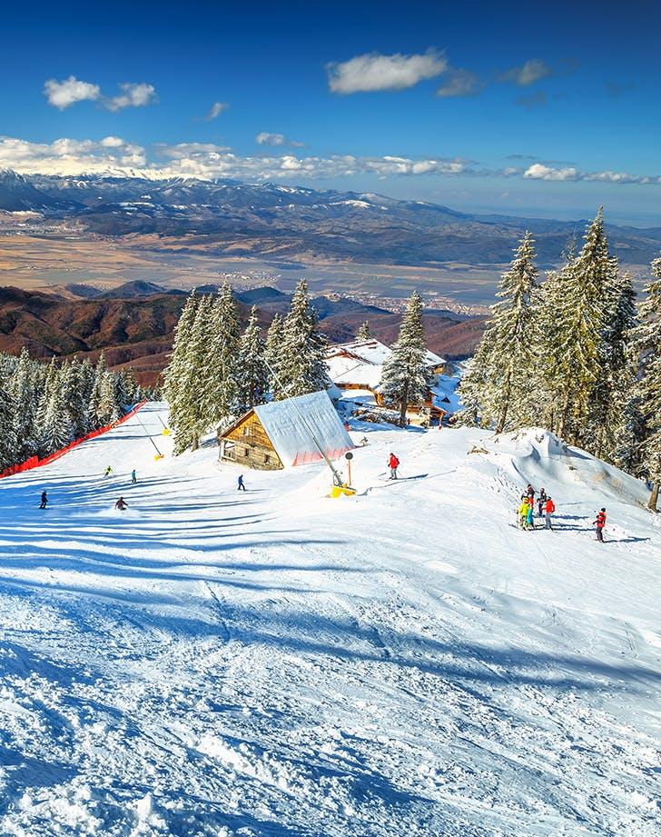 skiing in Poiana Bras  807 ov  Romania