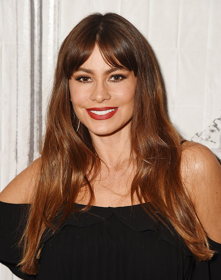 sofia vergara bangs