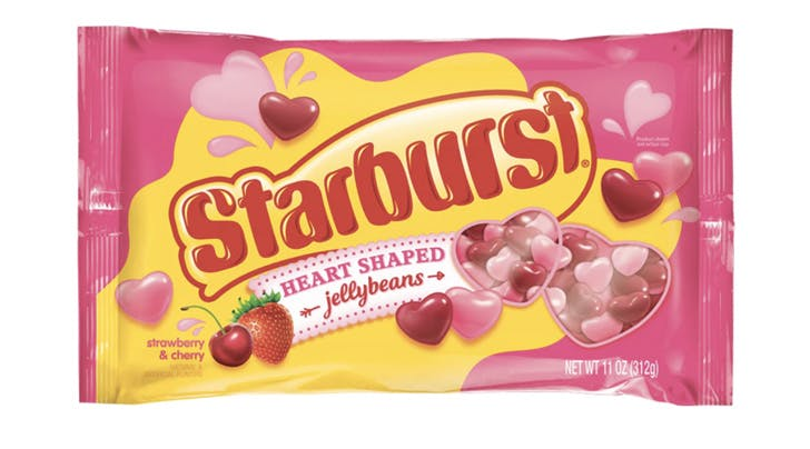 Valentine's Day Came Early with Starburst's New Heart-Shaped Jellybeans