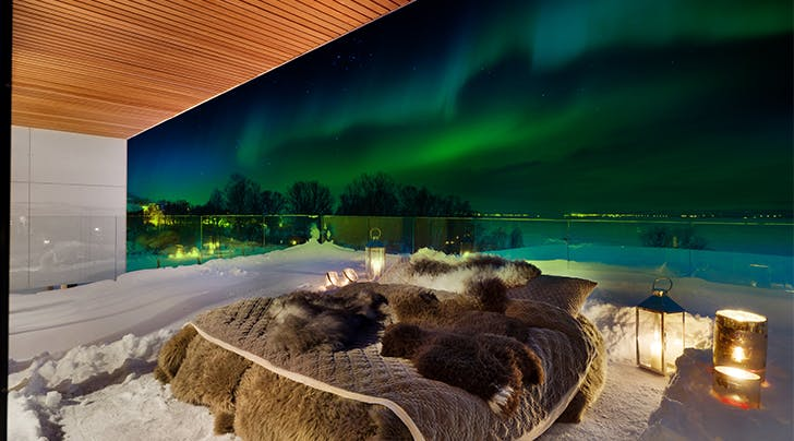 This Hotel Lets You Watch the Northern Lights from Your Very Own 'Aurora Bed'