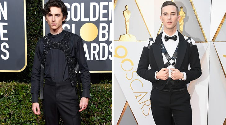 Timothée Chalamets Red Carpet Inspiration Is So Obvious (and So Fabulous)