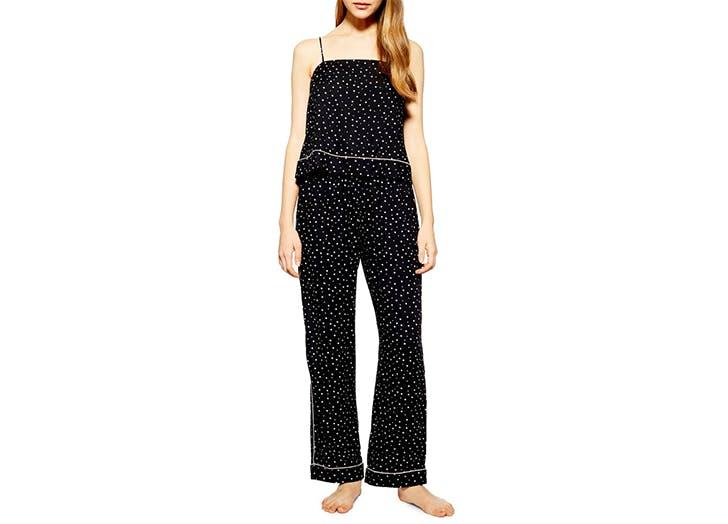 topshop star print pajamas