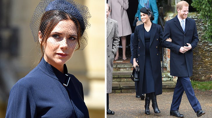 Heres How Victoria Beckham Really Felt About Meghan Markle Wearing Her Clothes on Christmas Day