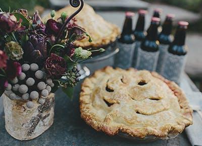 wedding pie table 290