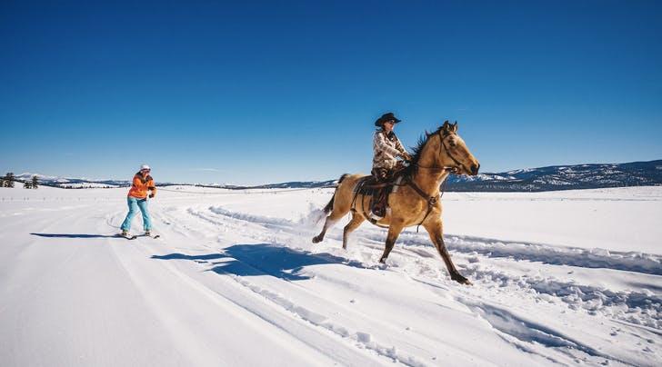 'Skijoring' Is the Latest, Strangest Winter Travel Trend
