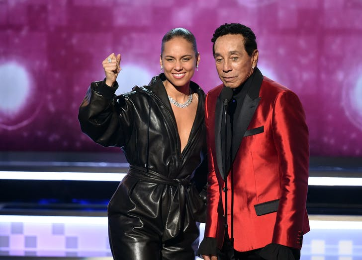 Alicia Keys Smokey Robinson