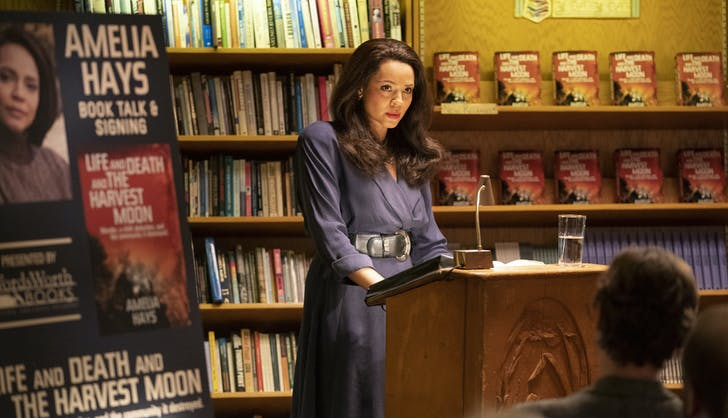 Amelia at a Book Signing True Detective