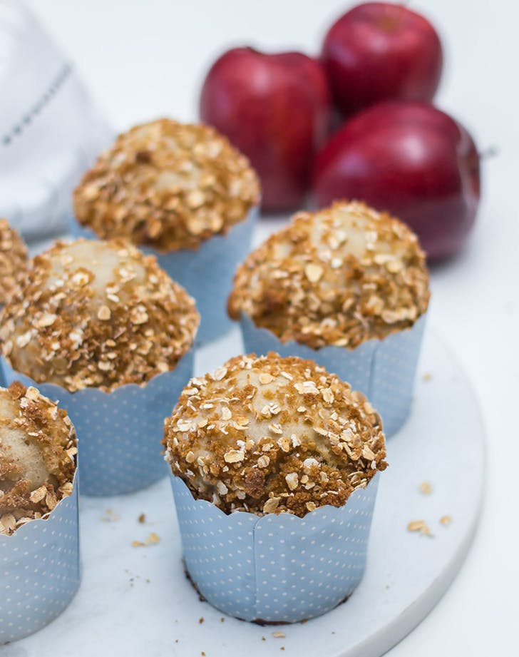 Apple and Cottage Cheese Muffins