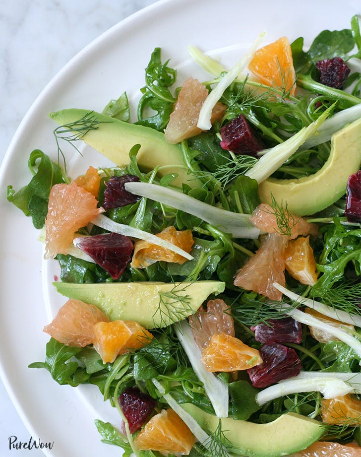Citrus Fennel Avocado Salad easter brunch recipe
