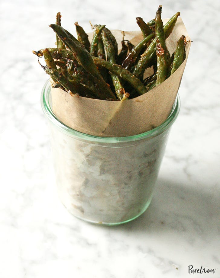 Crispy Baked Green Bean Fries Recipe
