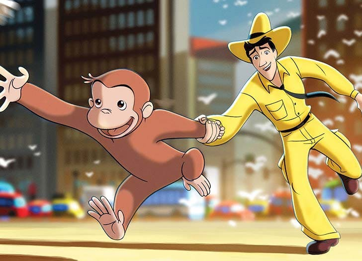Curious George movie for toddlers