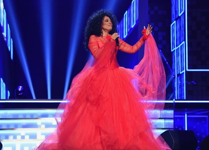 Diana Ross at 2019 Grammys