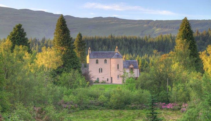 Duchray Castle  Aberfoyle  Scotland