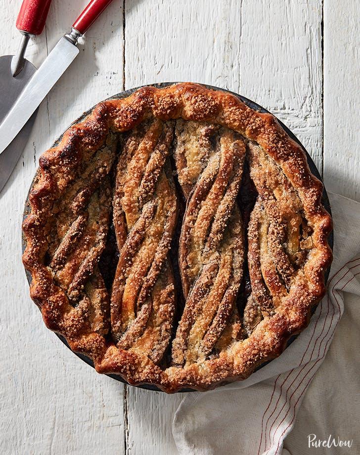 Ginger Cherry Pie recipe