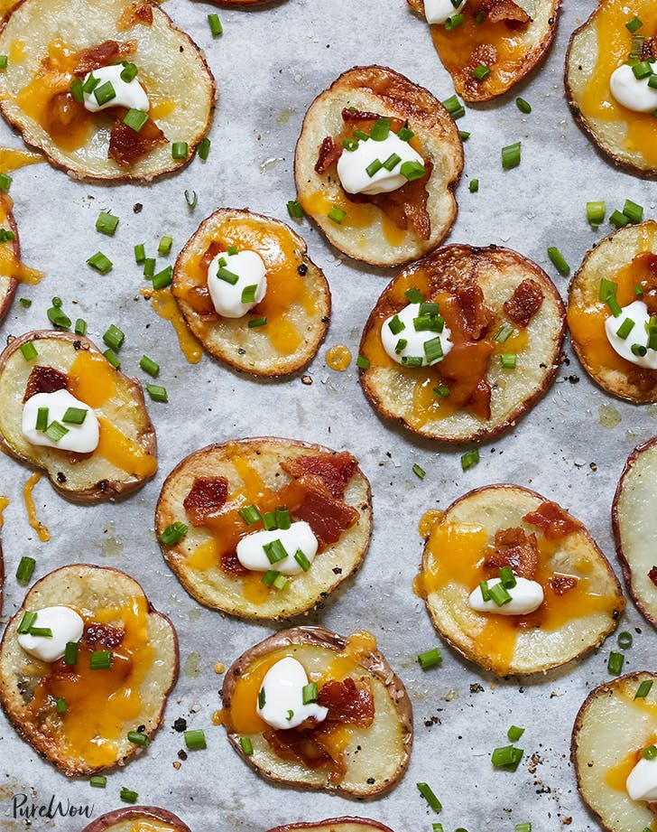 Loaded Baked Potato Chips Recipe