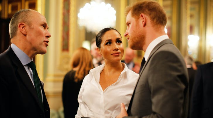Prince Harry & Meghan Markle Spent Date Night Talking About Their Puppy (Same)