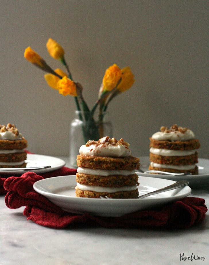 Mini Carrot Cakes easter brunch recipe