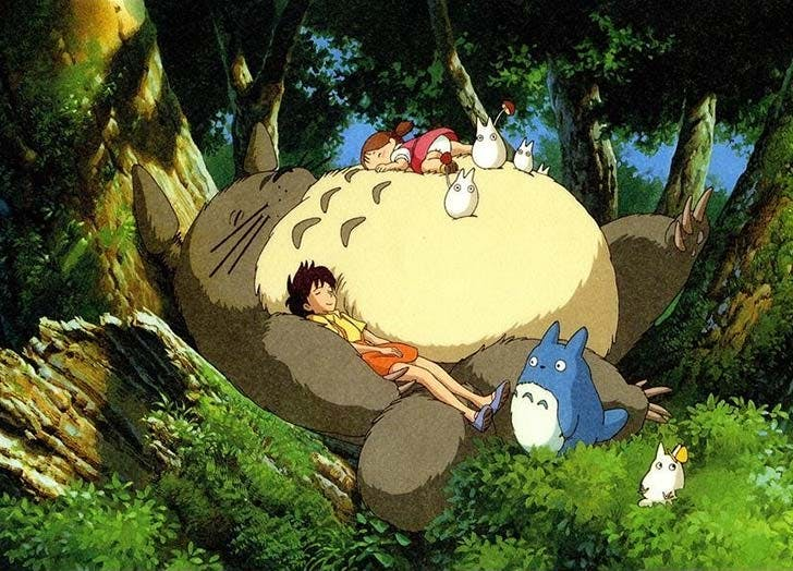 My Neighbor Totoro film for toddlers
