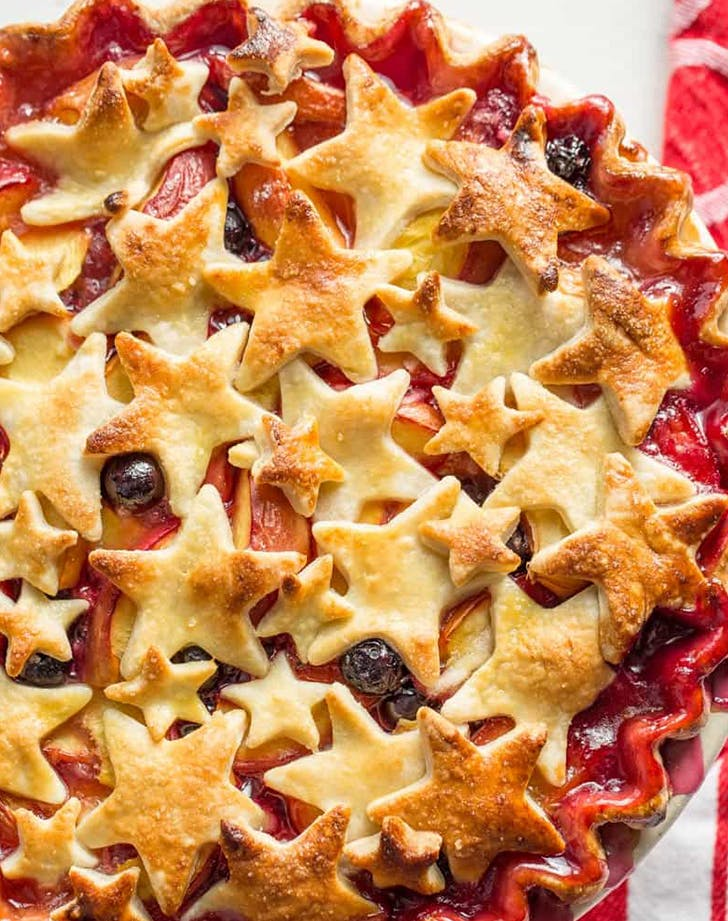 Nectarine Blueberry Pie Recipe