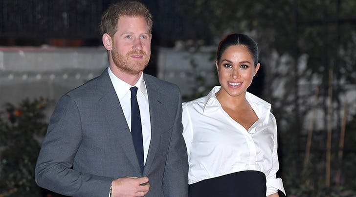 Prince Harry Made a Major Dad Joke About Meghan Markle's Baby Bump