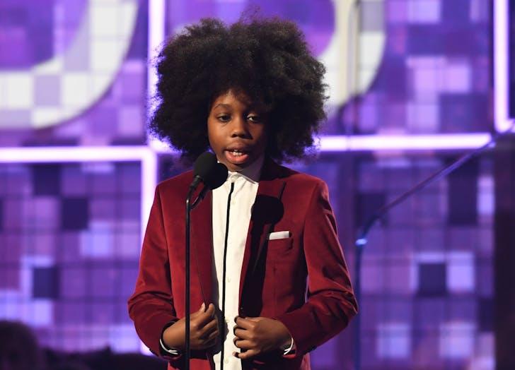 Raif Henok Emmanuel Kendrick at Grammys