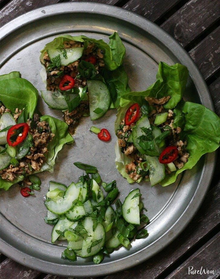 Thai Style Lettuce Wraps Recipe