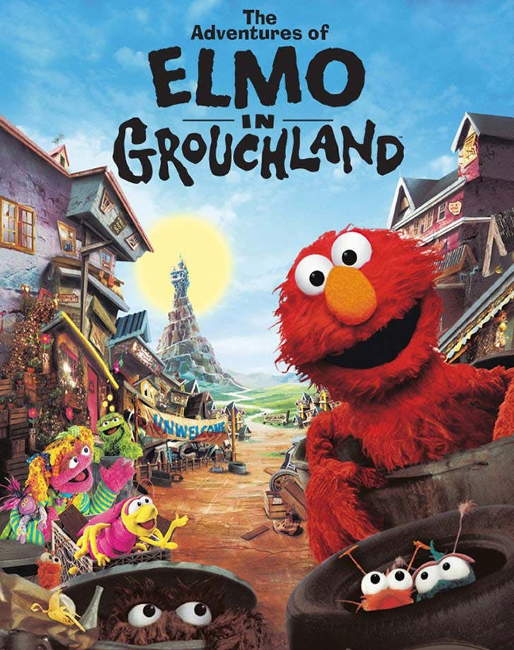 The Adventures of Elmo in Grouchland toddler movie