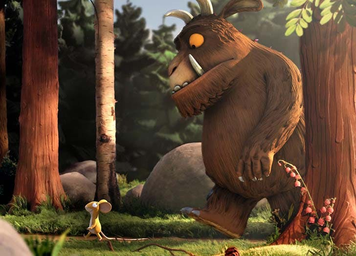The Gruffalo todder movie