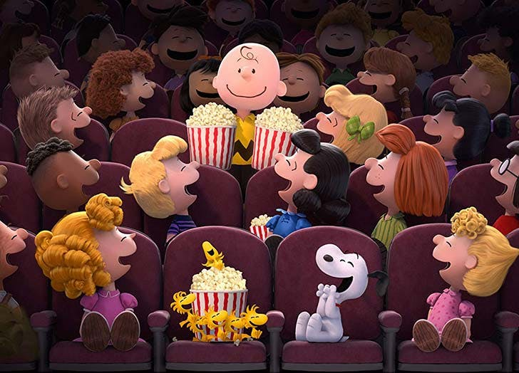 The Peanuts Movie best toddler movies