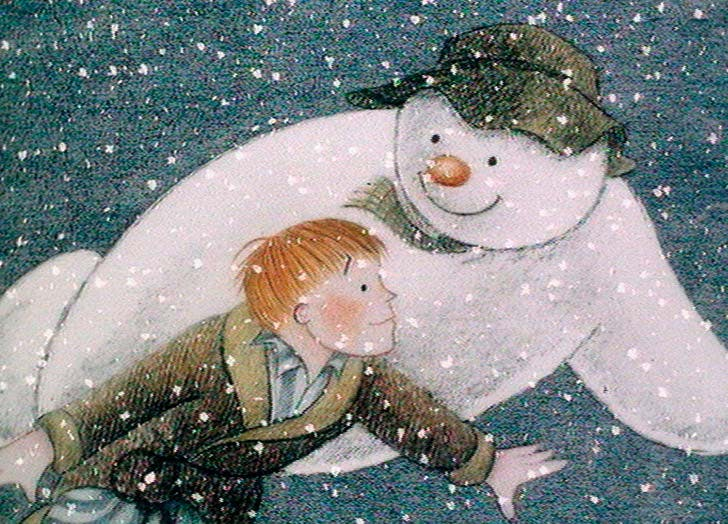 The Snowman best movie for toddlers