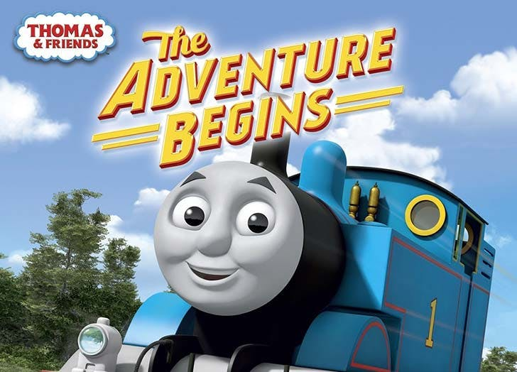 Thomas and Friends The Adventure Beings toddler movie
