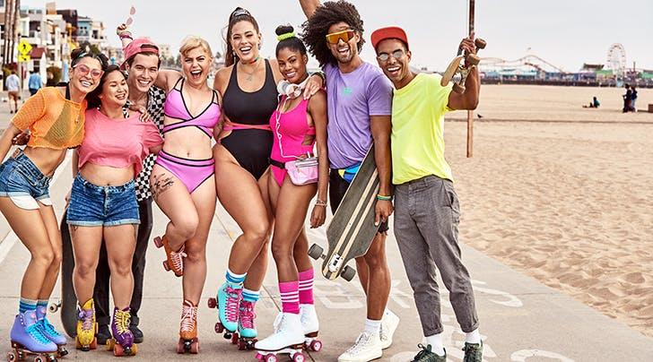 Ashley Graham's New Swimsuit Line Is Like a '90s Fever Dream