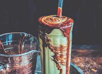 avocado shake salted chocolate sauce recipe 290
