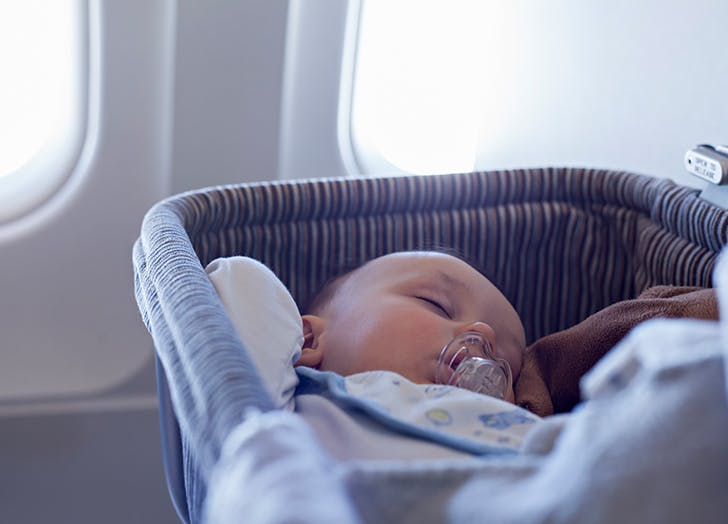 Traveling with an Infant? Here's How to Reserve a Bassinet on Board