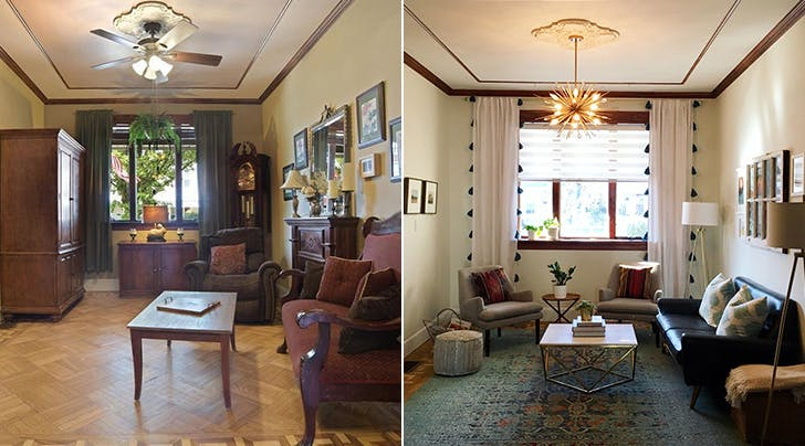 How To Brighten A Dark Living Room Purewow