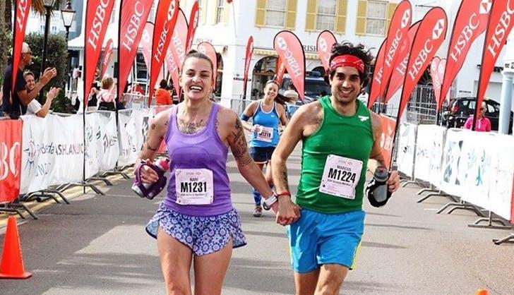 bermuda marathon runners