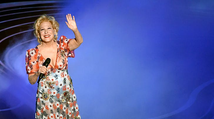 And Just Like That, Bette Midler Saves the Oscars