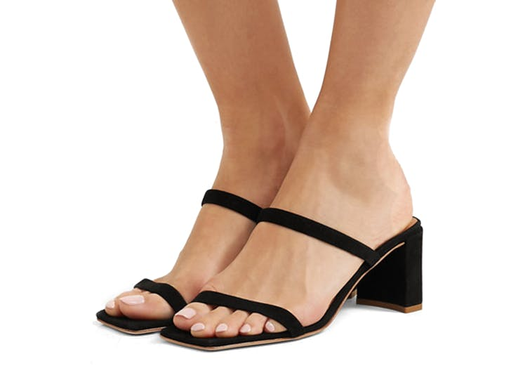 by far square toe heels