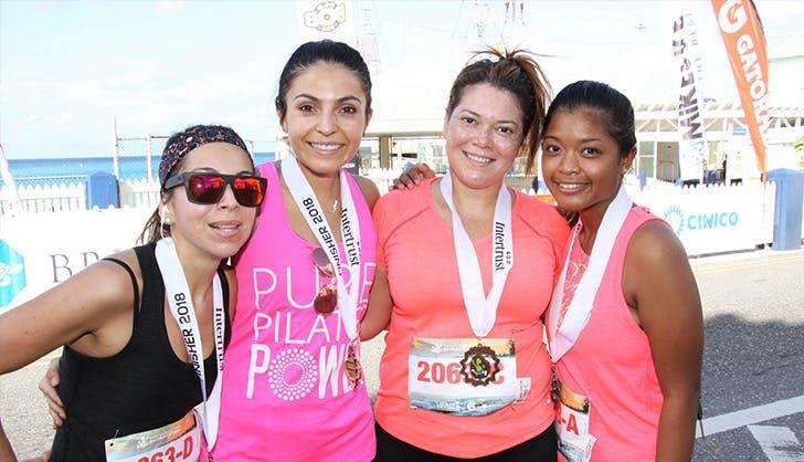 cayman islands marathon runners