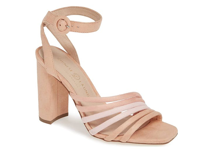 chinese laundry square toe heels