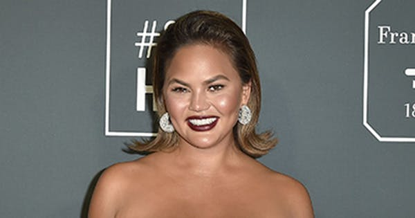 Chrissy Teigen Chipped Her Tooth While Filming 'Family Feud' & Yes, You Read That Right