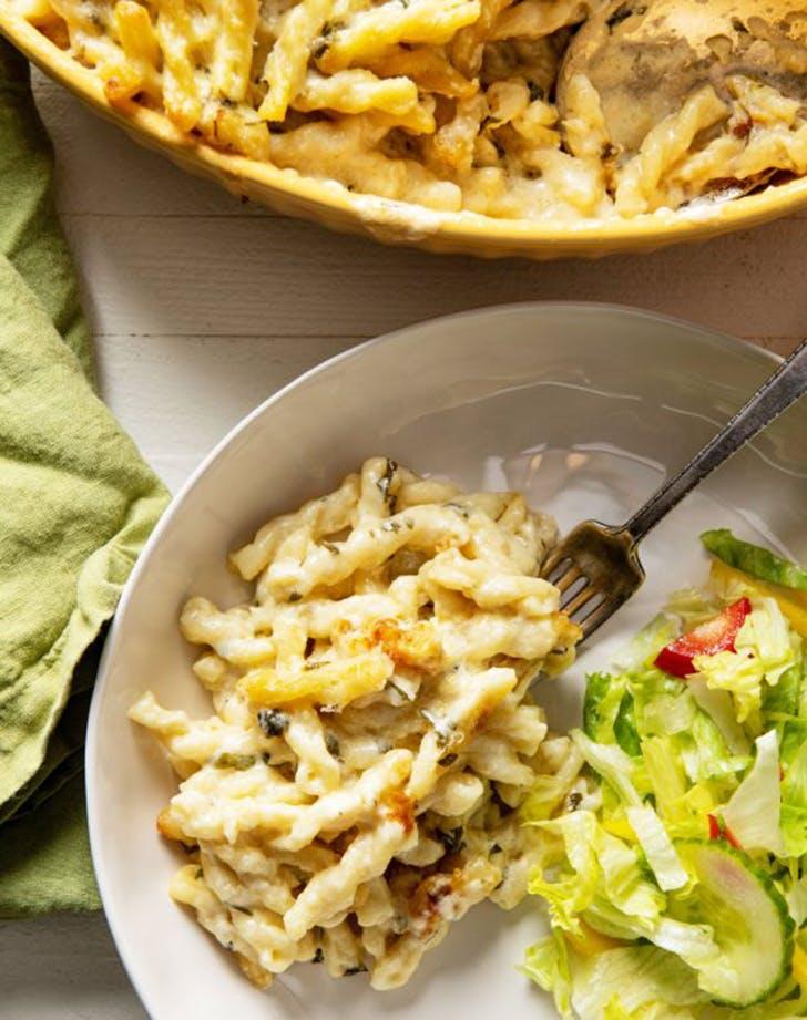 creamy four cheese pasta recipe