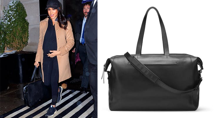 Meghan Markle Carries Gorgeous Weekender Bag From Cuyana