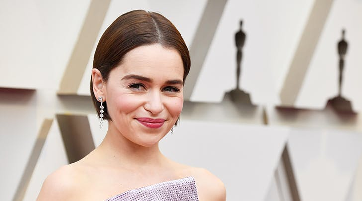 Emilia Clarke Debuted a New Hair Color at the Oscars...That She Did Herself