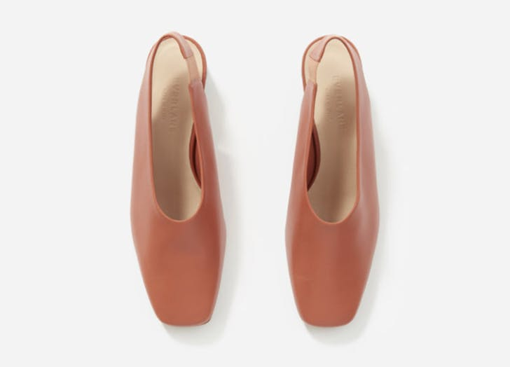 everlane square toe heels