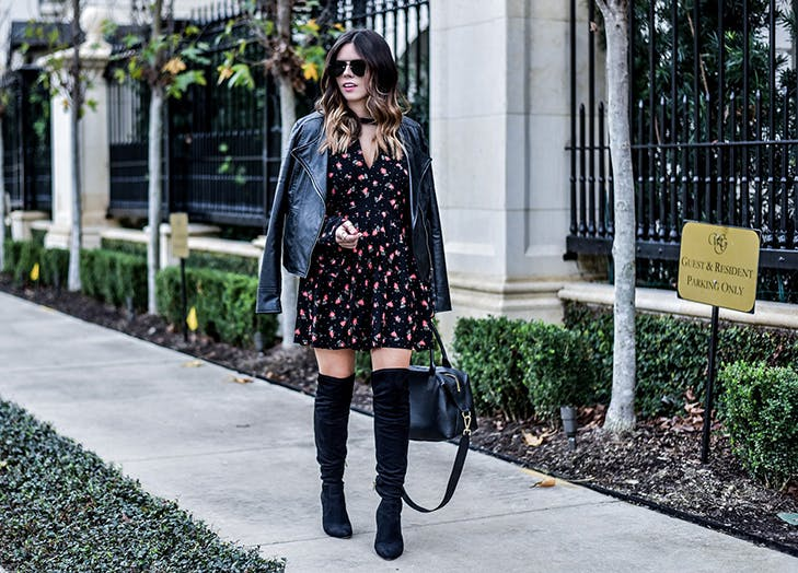 flaunt and center floral dress