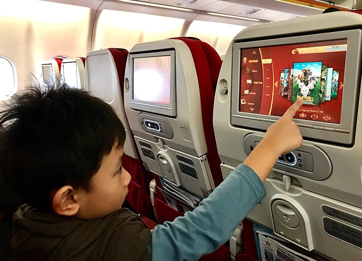 flying with a preschooler