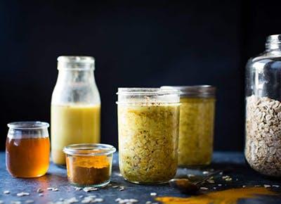 golden milk overnight oats gluten free vegan recipe 290