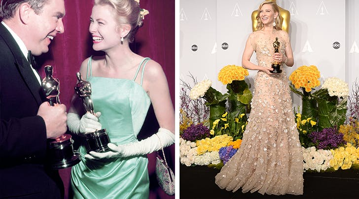 The Most Expensive Oscars Dress from 1955 Compared to Now